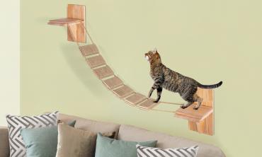Escalier murale pour chat