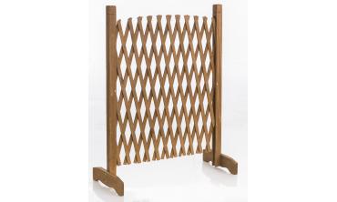 Barrière en bois extensible