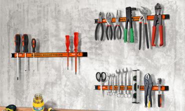 Barres magnétiques porte-outils - set de 3