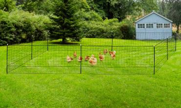 Kit clôture Nomade pour poules 24m²